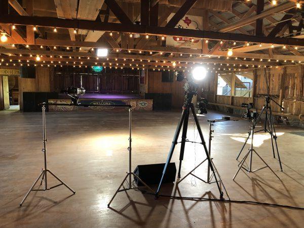Stage and camera setup