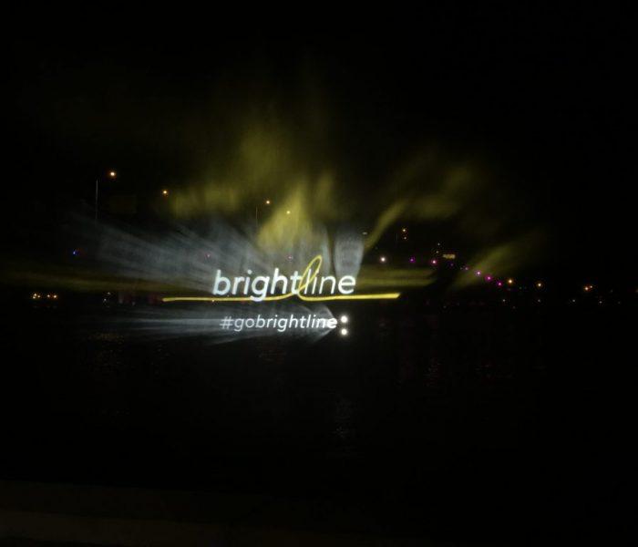 Brightline water show